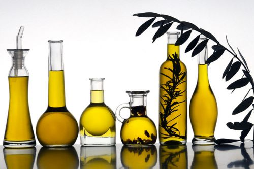 The road of olive oil in Vaucluse