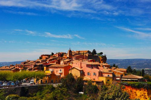 Village of the Vaucluse: Roussillon