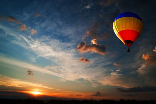 Discover the beauties of the Luberon in hot air balloon