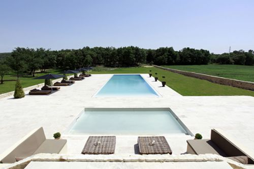 Swimming Pool in the Luberon in Provence