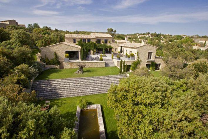 Biens vendus propri t s de luxe en provence provence - Maison contemporaine construite autour dun arbre ...